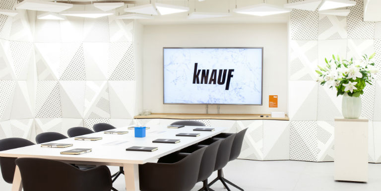 Knauf Clerkenwell showroom