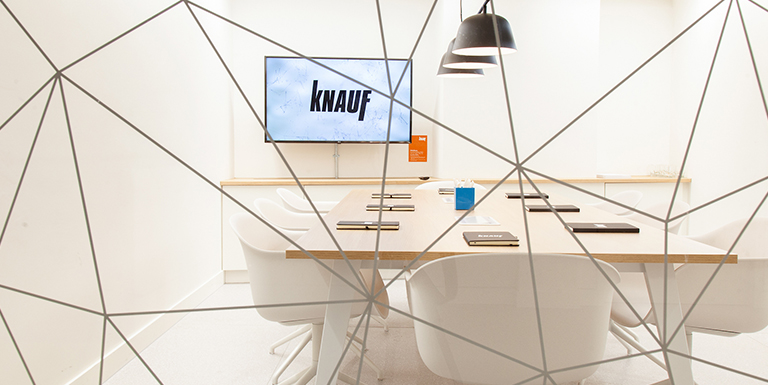 Knauf ongoing support
