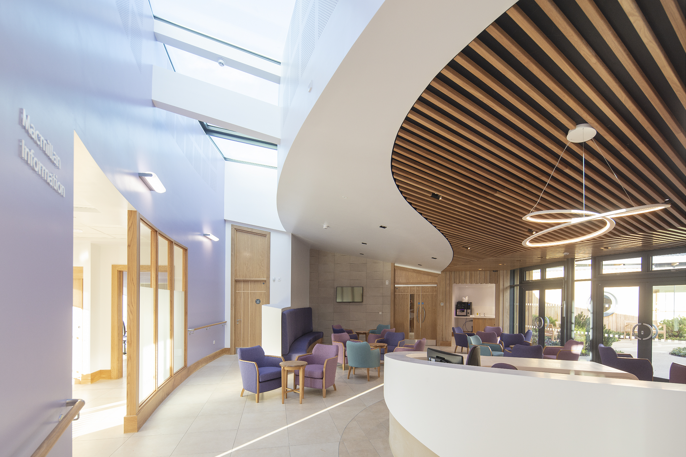 Knauf products for the Sir Robert Ogden Macmillan Centre