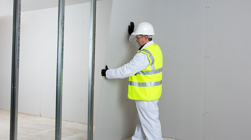 Knauf partition wall